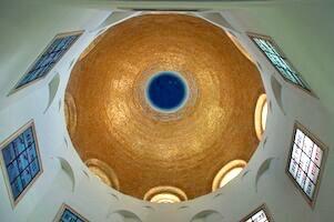 The Church ceiling