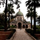 The Church of the Beatitudes in Galilee