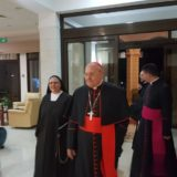 The visit of the Cardinal