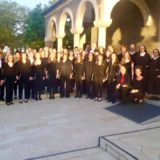 The visit of the Altensteiger choir from Germany (April 2017)