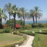 The grounds at the Church of the Beatitudes
