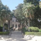 One of two guesthouses at the Church of the Beatitudes